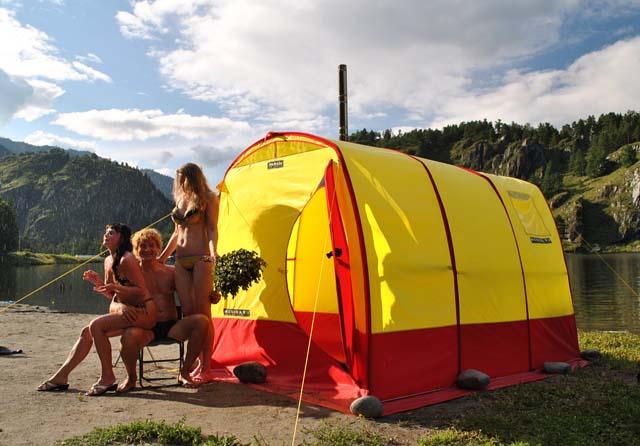 Фото палатка своими руками