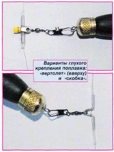 Коннектор для скользящего поплавка своими руками
